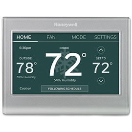 Honeywell Smart Color Thermostat with WiFi
