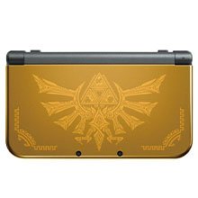 Nintendo New 3DS XL Hyrule Gold Edition