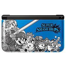 Nintendo 3DS XL Super Smash Bros Blue Console